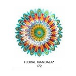 <B>12-inch must see BEAUTIFUL AND AMAZING Floral Mandala Wind Spinner</B>